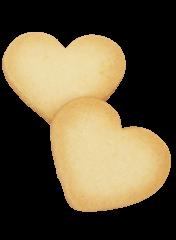 オリジナルの厚焼きハートクッキー
